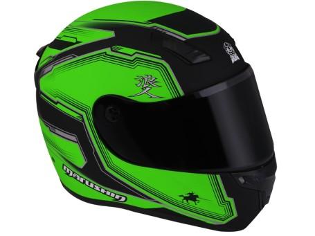 Marushin 999RS AKUMA  Neon Yeşil / Siyah