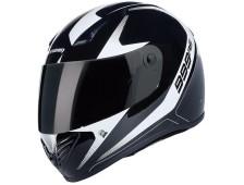 Marushin 999RS Start-up 2 Siyah/Beyaz Fullface kask