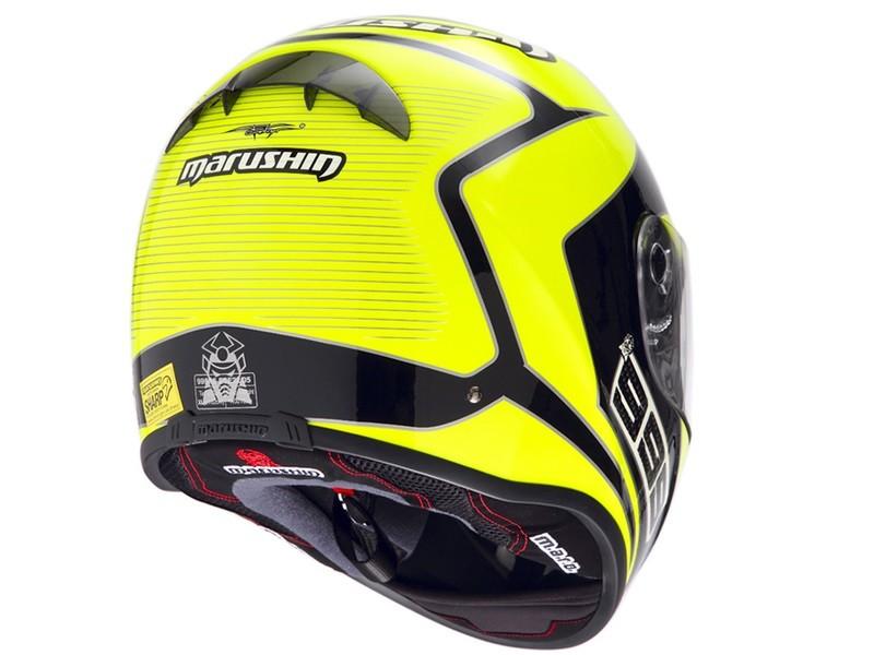 Marushin 999RS FUNDO Neon Sarı / Siyah